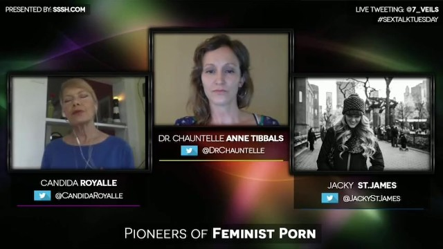 Lesbian music video controversy Royalle, st. james confront controversy in pioneers of feminist porn