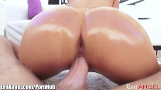 EvilAngel Big Assed and Busty Destiny Ass Licked