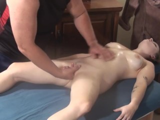 Rochelle Sexy Manta Massage & Fuck, Big Tits Blowjob Cumshot Massage Amateurs