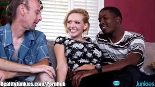 Kagney Linn Karters Black Cocked Cuckold  open mouth cumshot big black cock reverse cowgirl interracial cuckold big tits big cock bbc cuckold blowjob blonde cumshot interracial shaved big boobs realityjunkies fake tits