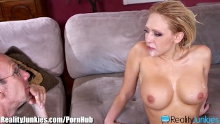 Kagney Linn Karters Black Cocked Cuckold  big black cock big tits big cock bbc reverse cowgirl cuckold blowjob blonde cumshot interracial shaved interracial cuckold big boobs open mouth cumshot realityjunkies fake tits