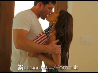 Preview 2 of Passion-HD - Ava Mendes puts on her sexy 4th of July look