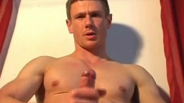 Came to deliver a box, he gets wanked his by cock by a client 4 porn movie.