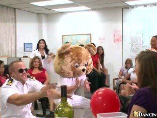 Birthday party crashed by Dancing Bear
