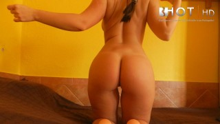 Casting 5 young teen anal Diana cu de Melancia portuguese tuga portugal