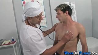 Cock jizzed uniformed doc hd latin