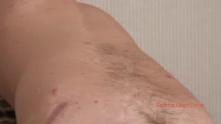 Young shows off audition ass man alex's cock and straight jerks young straight
