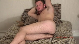 Young off shows and man audition ass jerks straight cock alex's armpit off