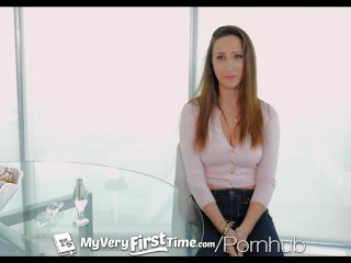 MyVeryFirstTime - New uncensored version - Ashley Adams first time anal
