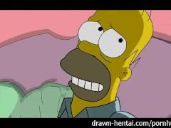 Simpsons Porn - Homerus neukt Marge