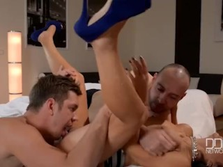 Preview 4 of Fiery Latina Milf gets Double Penetrated!