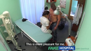 FakeHospital Fit nurse sucks and fucks body builder
