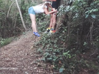 Older Couples Swap Blowjob In The Woods, Amateur Blowjob Public Exclusive Amateurs