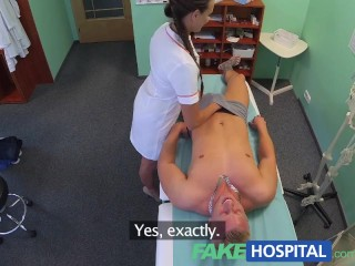 Ex Girlfriend First Anal Fakehospital Sexy Nurse Gets A Mouthful Of Cum In The Doctors Office