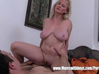 Taylor Rain Double Anal Lazy Stepson Sexually Punished By His Blonde Stepmom