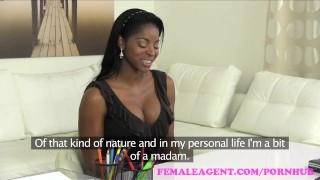 FemaleAgent Confident English beauty in superb lesbian casting  agent british hd ebony audition sexy amateur blonde english casting busty toys hardcore orgasms office lesbian reality czech interview femaleagent