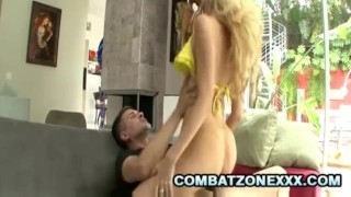 Emily Kae - Amazing Blondie Pussy Filled WIth Cum  cock riding cum in pussy creampie blonde pornstar emily kae wanking handjob cock sucking cowgirl face fuck cock stroking combatzonexxx woman on top oral sex nasty blondie