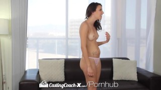 CastingCouch X Hot latina Sophia Grace gets fucked on couch