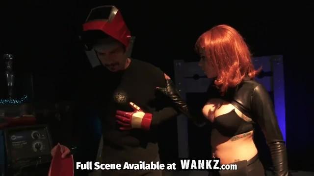 black widow porn parody