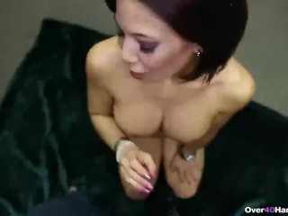 Mature hand job vids, girl gets fucked hard in shower gif