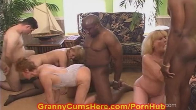 Nasty anal video - 3 nasty whoring grannies home video