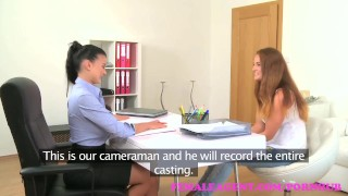 FemaleAgent. New sexy busty agent loves the taste of pussy  agent hd audition sexy lesbo amateur femaleagent casting busty hardcore office czech orgasm interview pussy licking big boobs