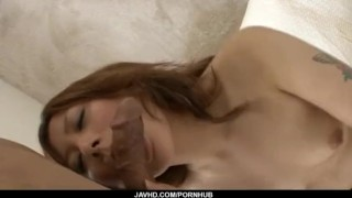 Superb POV blowjob with naughty Miku Haruno ball licking tits cum-on-tits mom hand-work bedroom cumshot mother cock-sucking cum-on-face javhd hot-milf busty