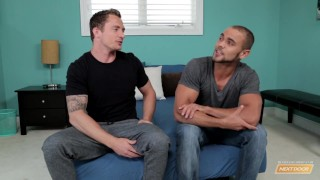 Casting door next auditon avery's brock doggy muscles