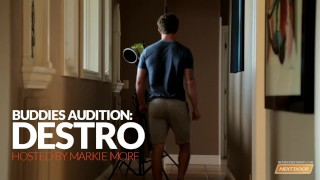 Next Door Casting Destro's Audition Muscle doggy