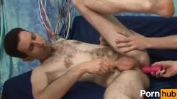 Hairy Skinny Dude Takes It Raw