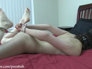 Kristine Kahill's First Self Bondage Adventure