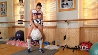 Preview 5 of Busty Pornstar Cheerleader