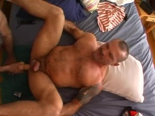 Huge Toys with Muscle Daddies