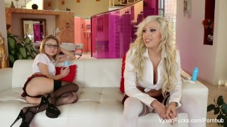 Fun skye and scenes with behind kota the steel vyxen stocking small