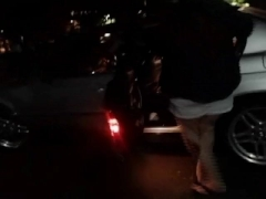 HUGE TIT MILF FROM CRAIGSLIST FUCKS FOR MONEY IN A HOTEL PARKING LOT!