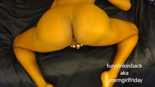 POV ass fucking & massive squirting from hurricane fury
