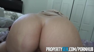 Propertysex tricked sex realtor making by into perv ass video latina big blowjob homemade