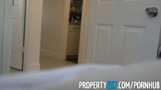 PropertySex - Big ass Latina realtor tricked by perv into making sex video Black hardcore