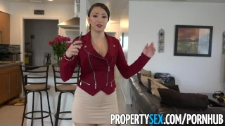 Big tricked sex propertysex making into ass video by perv realtor latina sex propertysex