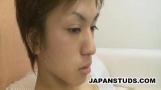Pipe japanese boy koizumi his shigeki cleaning skinny ejaculation skinny