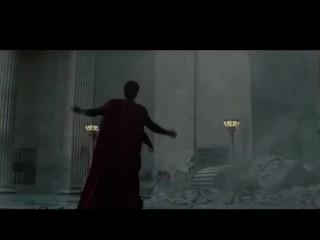 Superhero Music Video  Superman Charlie R.I.P. Paul vs. Batman Eminem