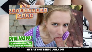 MyBabySittersClub Dad catches Babysitter Webcamming