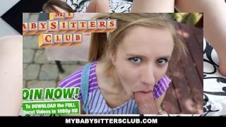 MyBabySittersClub Dad catches Babysitter Webcamming