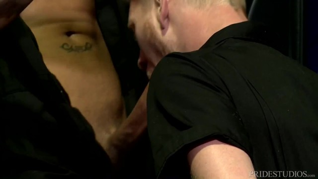 Free gay hand job flix - Extra big dicks getting caught wanking on the job