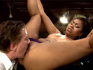 SEX OLD RICH WHITE GUY LOVES YOUNG TINY BLACK PUSSY YASMINE DE LEON