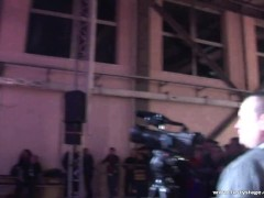Amazing pole dancing show