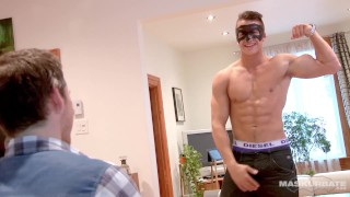 Philippe's maskurbate smoking audition stud muscle