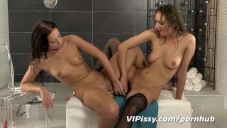 Hot lesbian pee play Sex toys