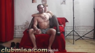 Strangerm teases sexy milf a misa redhead horny tits teasing