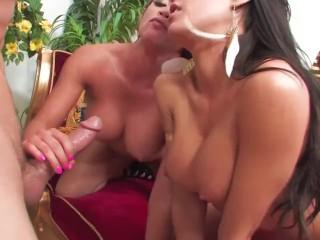 Capri And Mia Decide To Have A Threesome For The Gods - Scene 1